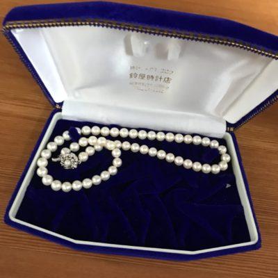 真珠お買取りさせて頂きました!
