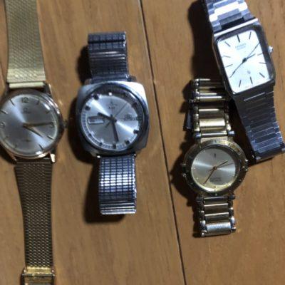 腕時計お買い取りさせて頂きました!