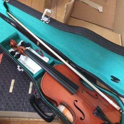 ヴァイオリンお買取りさせて頂きました!